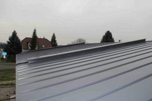 Pultová střecha skladba
